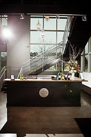 Venue 92 custom built-in bar