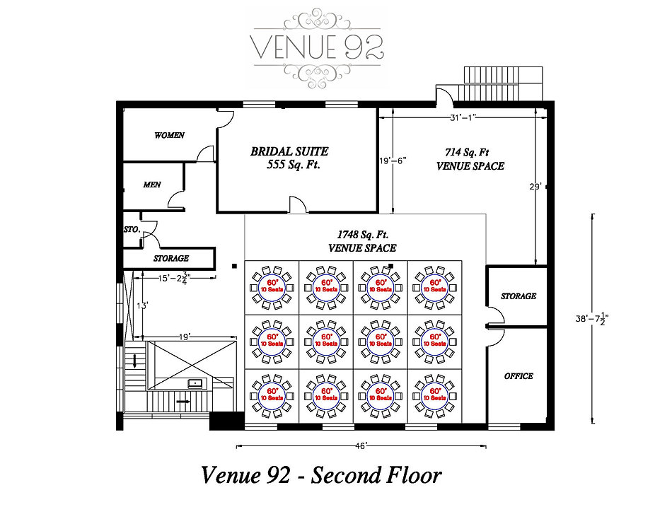 Venue 92 2nd floor event space