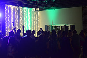 Twinkle Light Wall at Venue 92