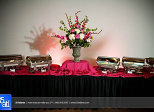 Elegant food display by Eventwise