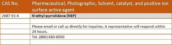 NEP N-Ethyl-Pyrrolidone