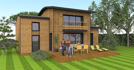 Permis de construire d claration de travaux for Extension maison 85