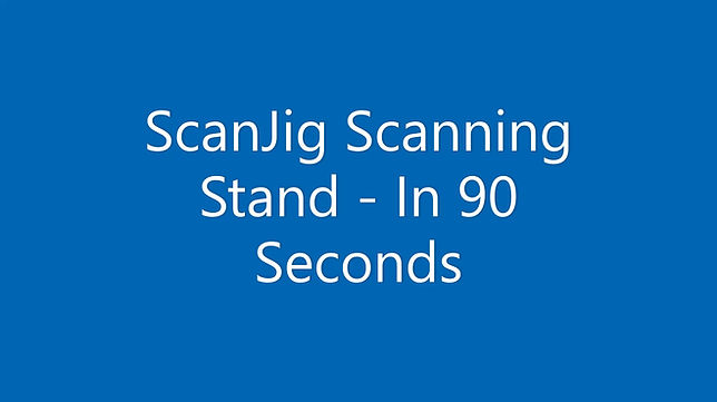 Short Video Overview of the ScanJig Scanning stand