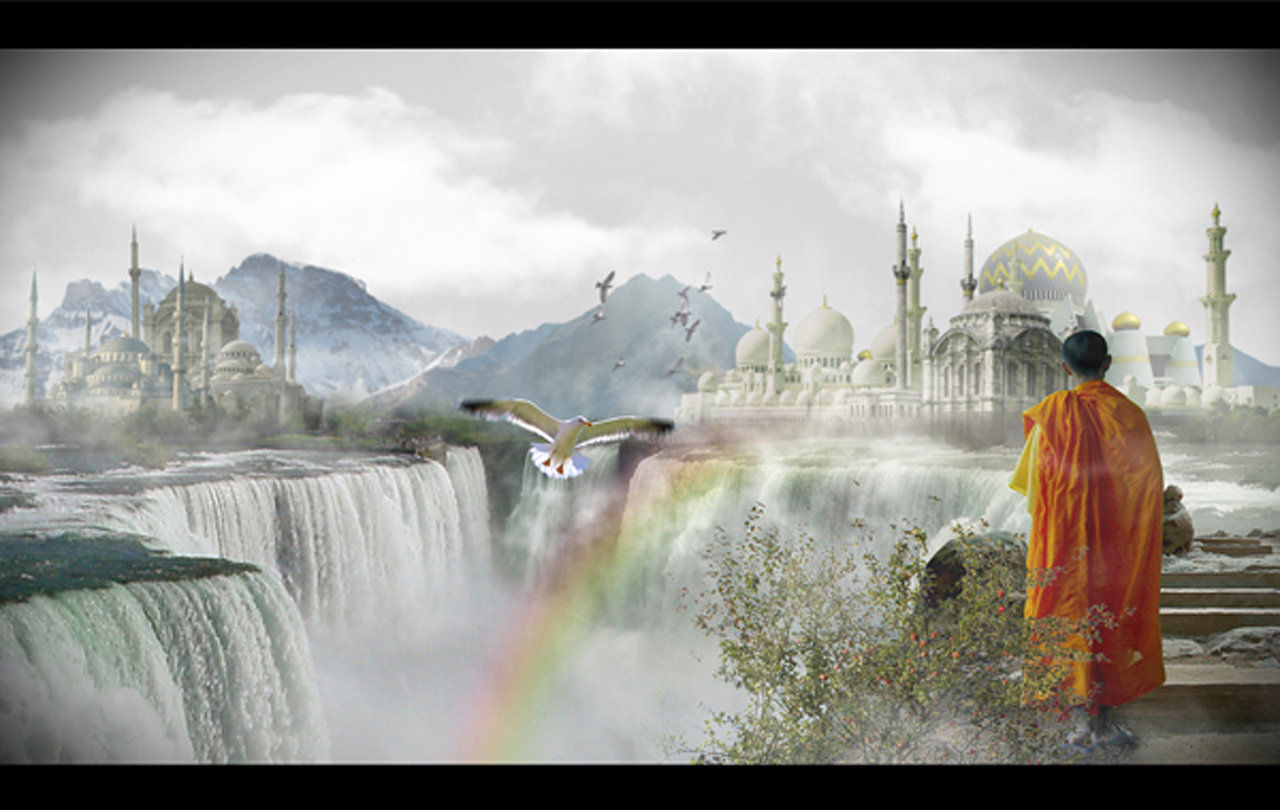 Photoshop fantasy wix matte painting inspired sceneg baditri Choice Image