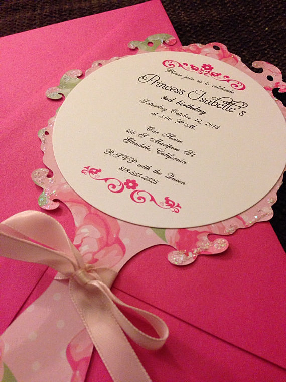 Couture Wedding Invitations with adorable invitation design
