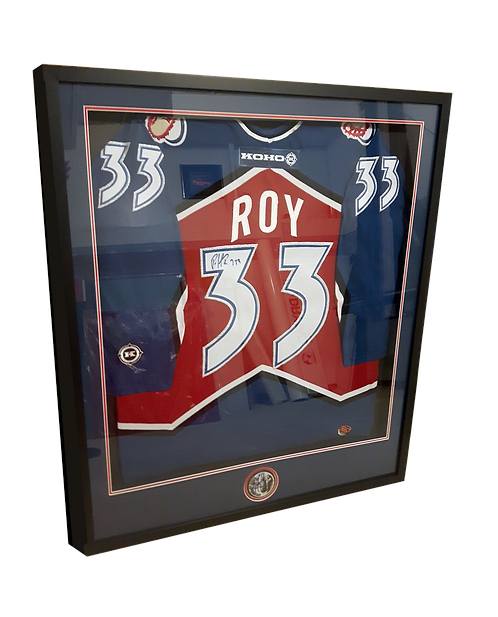 Jersey Boxes Calgary   Shadow Boxes   Jersey Framing