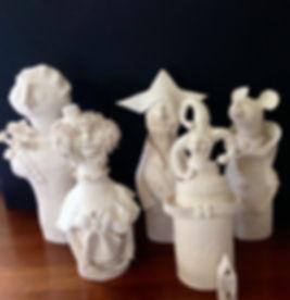 my ceramic friends