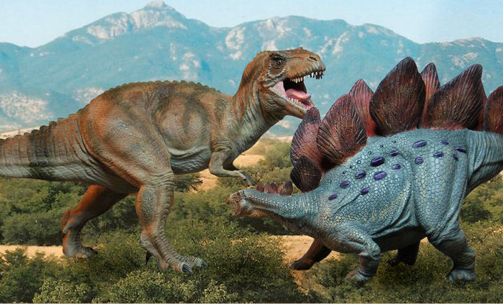 Gallery images and information: Triceratops Vs Stegosaurus