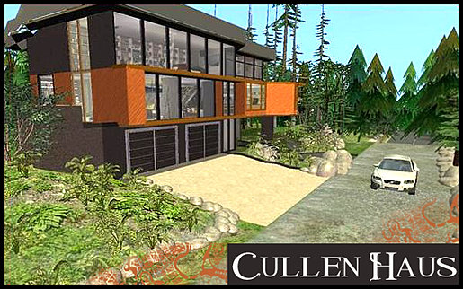 Cullens House From Twilight waterwomans properties | twilight - cullen house