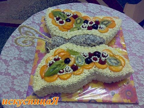 рецепт и фото детских тортов