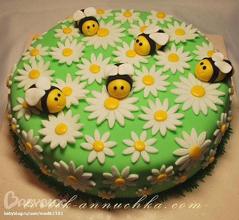Торт пчела фото