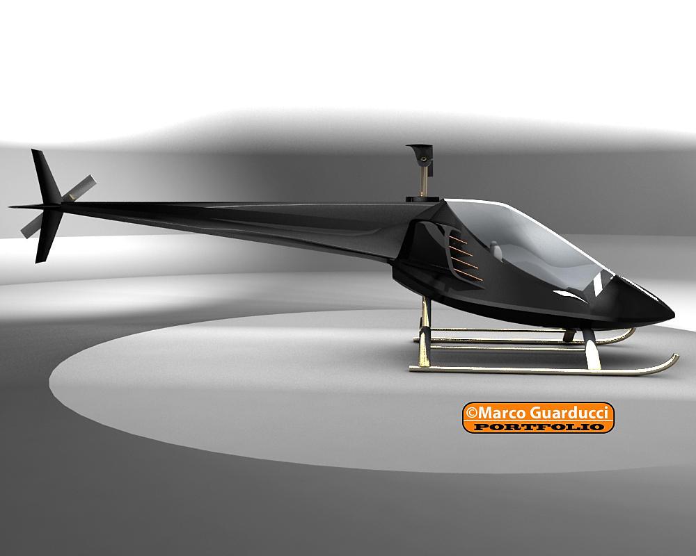 Elicottero 3d Model : D modella z in elicottero id