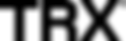 Logo - TRX black simple small transparen