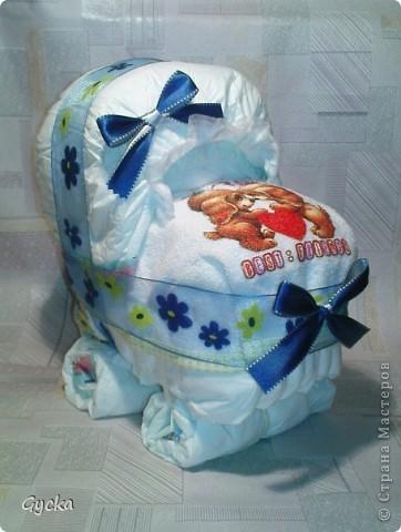 Подарки из памперсов пошагово