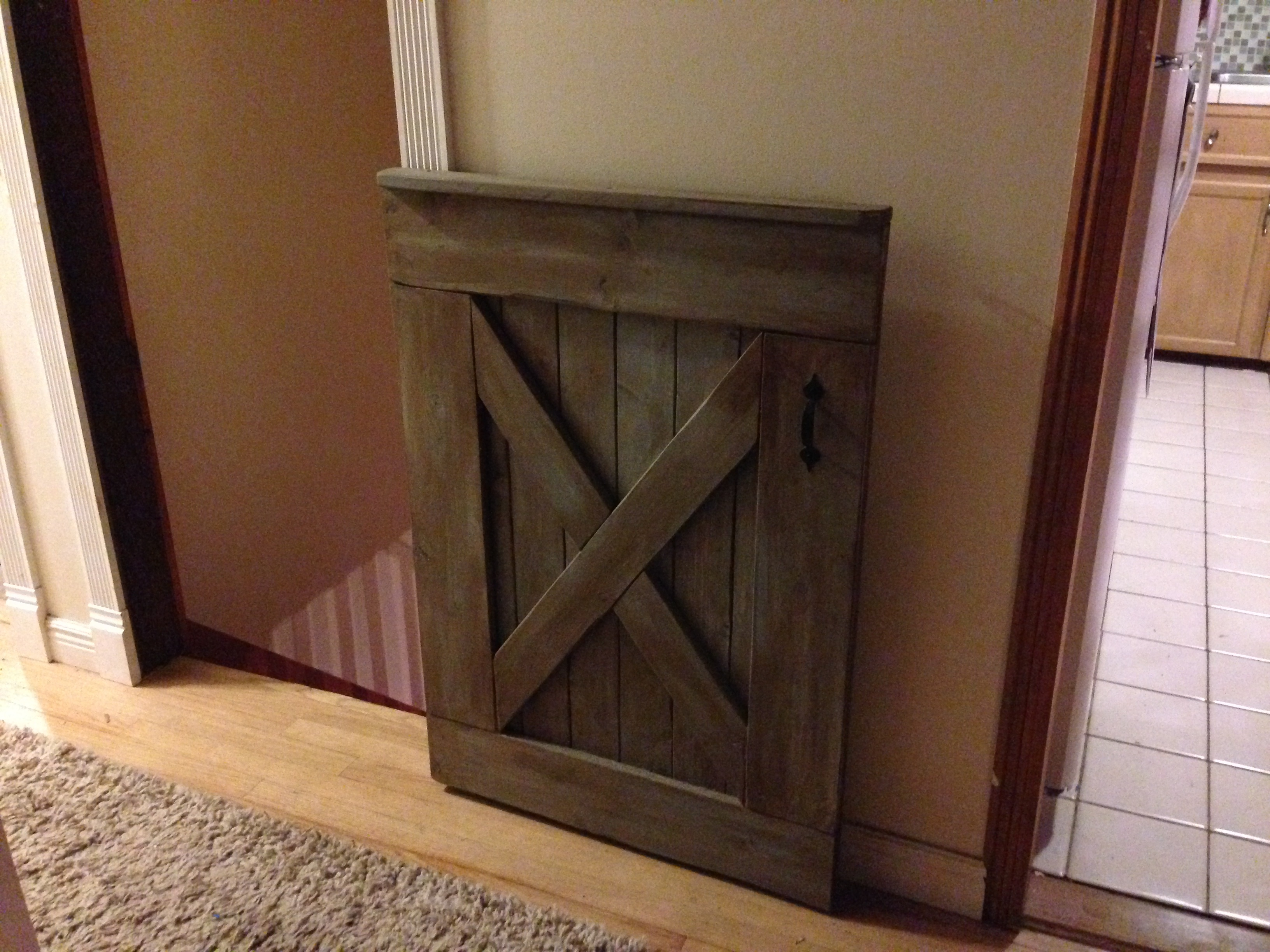 rustic doors and decor barn door baby gate