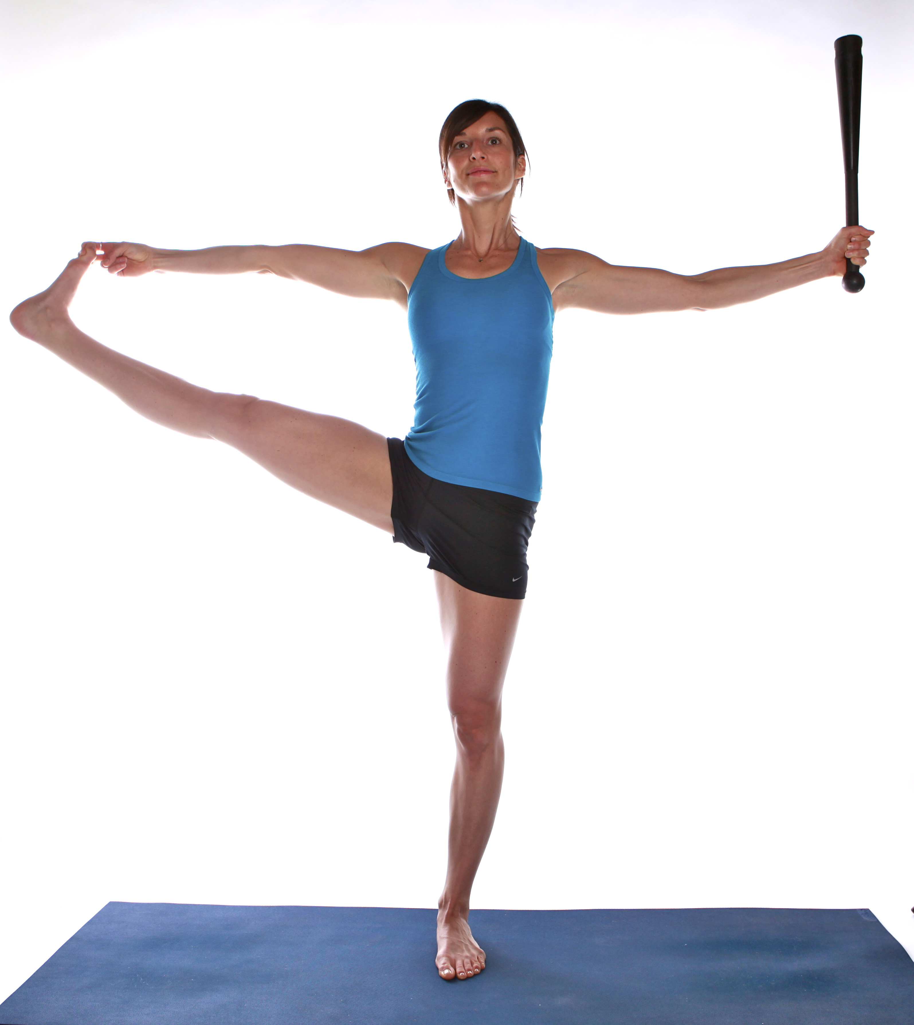 Clubbell Yoga | Standing Big Toe Pose
