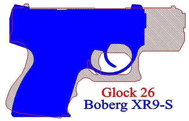 Glock 26 ballistics, miniature size!