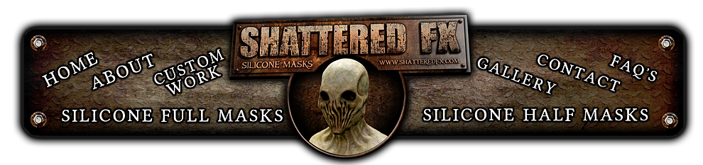 silicone masks, silicone mask, shattered fx, silicone, silicone half masks, silicone halloween mask, spfx, silicone collectors masks, silicon masks, silicon, realistic silicone, fetish, zombie silicone, halloween masks, silicone face, haunted house
