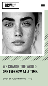 See All Templates website templates – Brow Bar