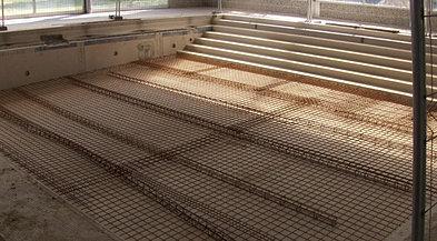 Terra ga construction de piscine b ton r novation tude for Radier piscine beton