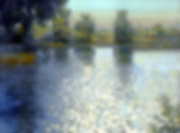 Ripples on a Pond  18x24 2008 .jpg