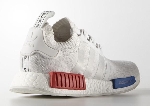 Adidas Nmd R1 Weiß Blau Rot