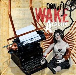 dont wake aislin album cover