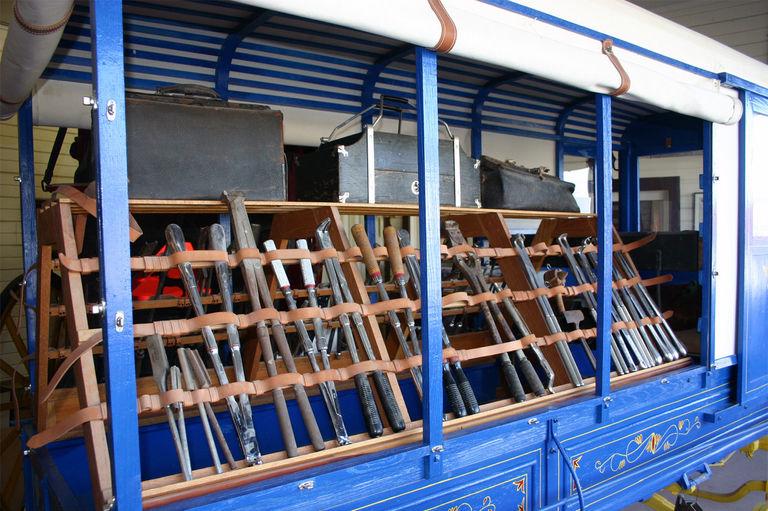Restored 1850 Vet Wagon
