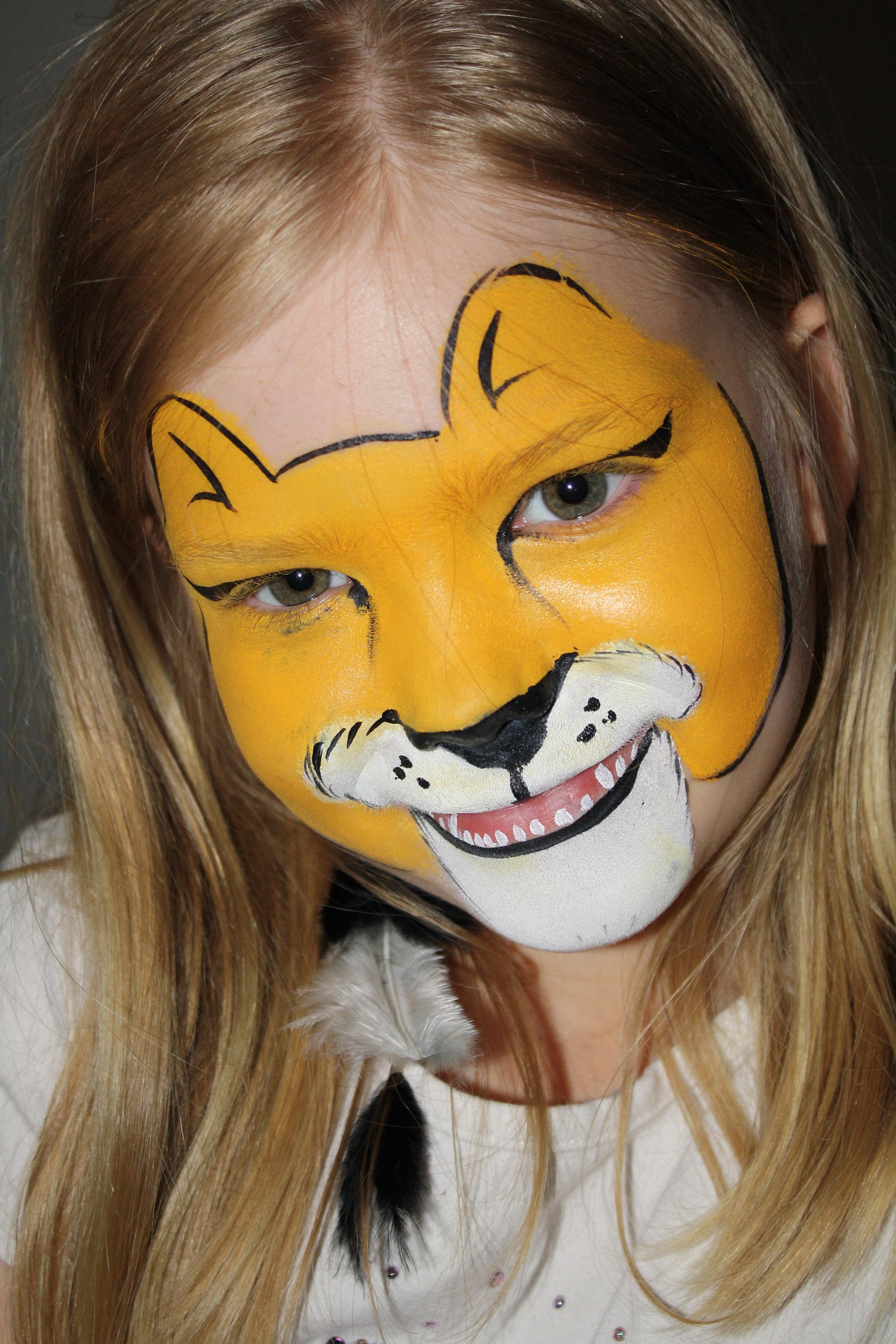 Uncategorized Lion Facepaint how to paint a lion face better life do m home video dailymotion