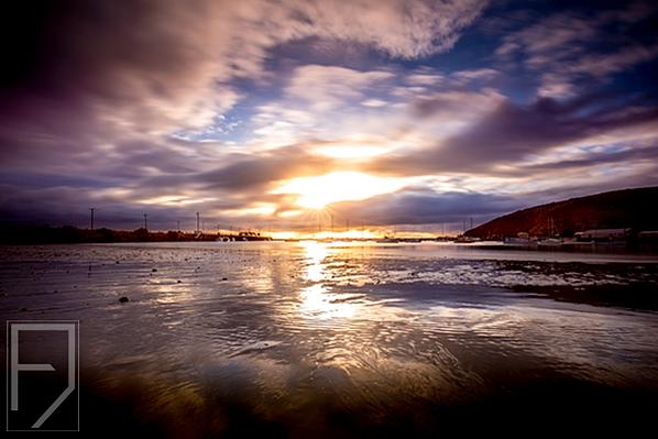 Sunrise in Oamaru