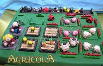Tarta juego Agrícola