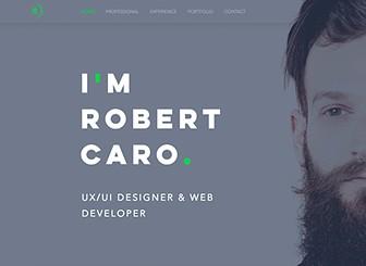 uxui designer resume website template wix - Ui Designer Resume