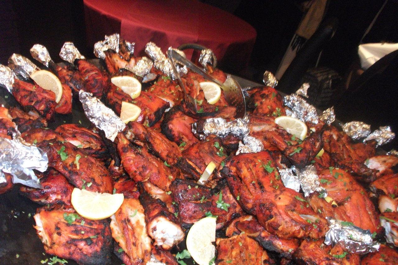 mariage poulet tandoori - Traiteur Indien Mariage