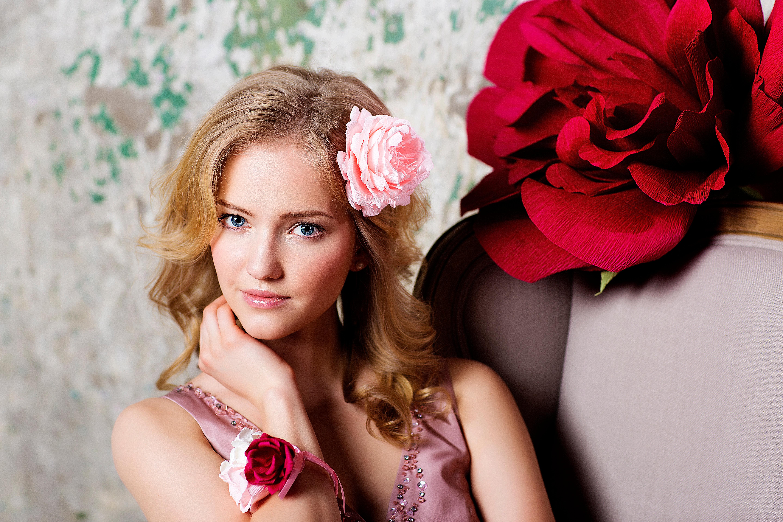 Фото с большим цветами