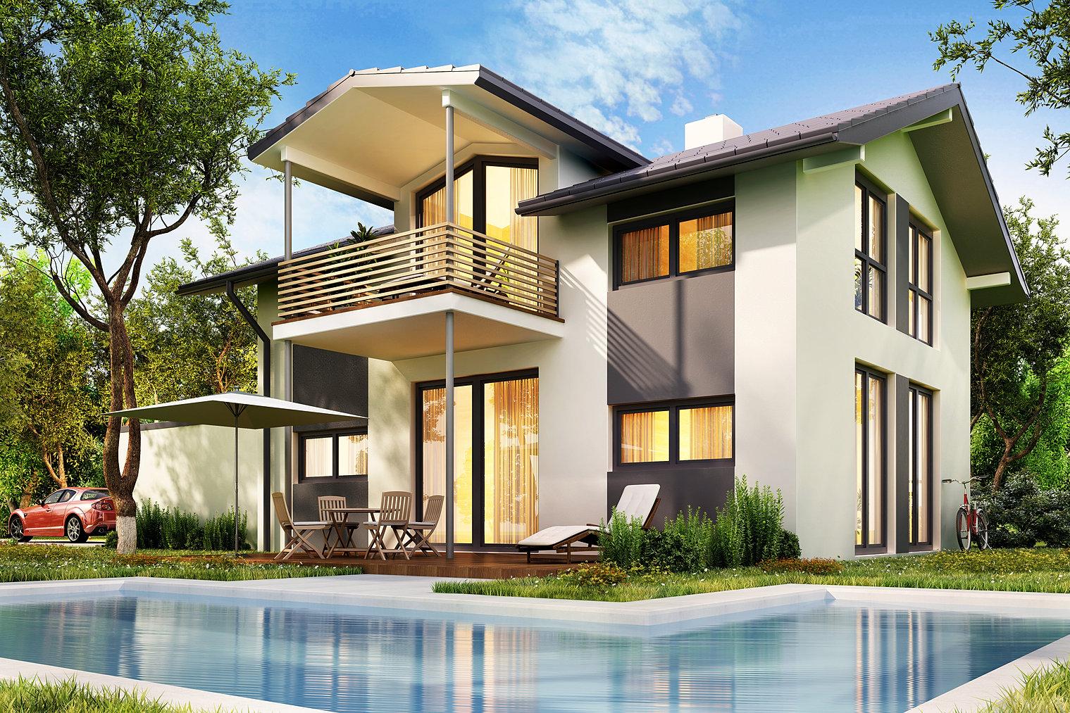 Haus4you satteldach modern for Innenplanung haus