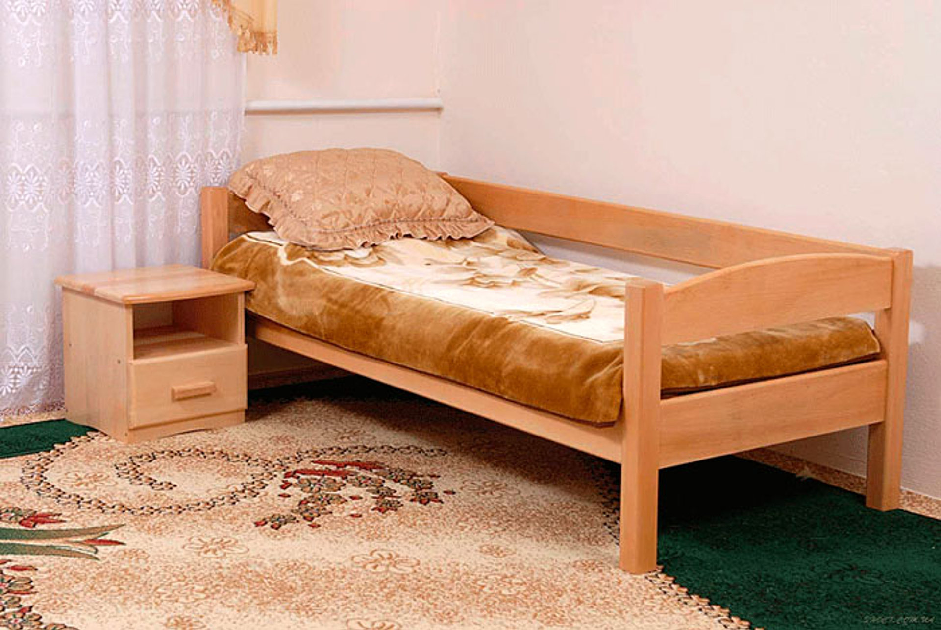 Одноместную кровать своими руками