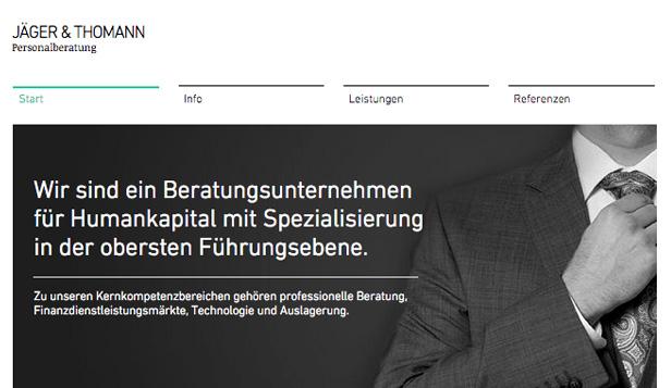 Luxus-Personalvermittlung