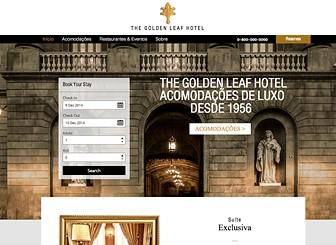 Hotel de Luxo Template - Um template elegante para promover seu hotel com muito estilo. Faça upload de fotos, mostre os preços das diárias e use o aplicativo de reservas para dar aos seus hóspedes a melhor experiência de reserva de hotéis. Este template discreto e sofisticado é perfeito para ocupar seus quartos!