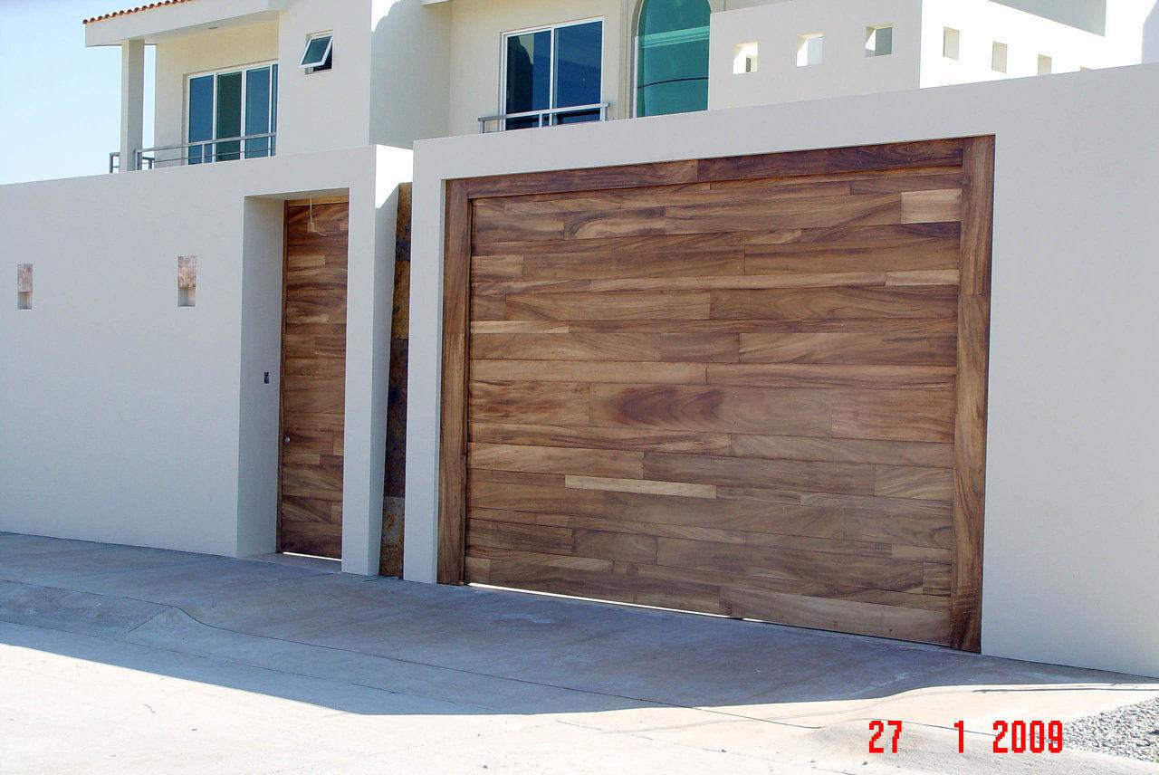 Puerta para cochera top puertas automaticas para garage y - Puertas para cocheras ...