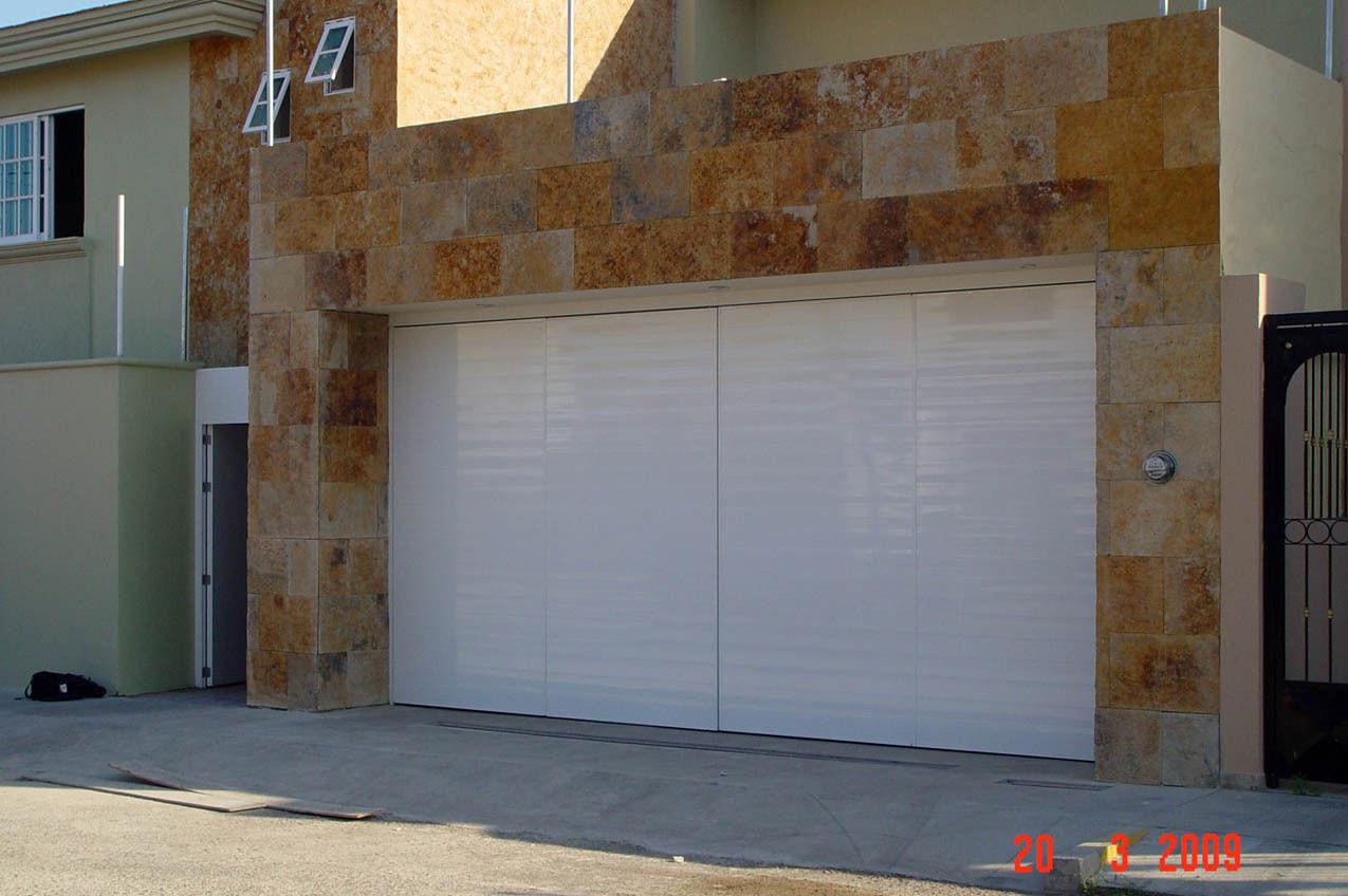Puertas para cocheras electricas con pta peatonal - Puertas para cocheras electricas ...