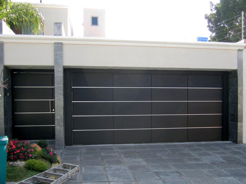 Puertas para cochera automaticas fibraline en guadalajara jalisco - Puertas de cochera ...