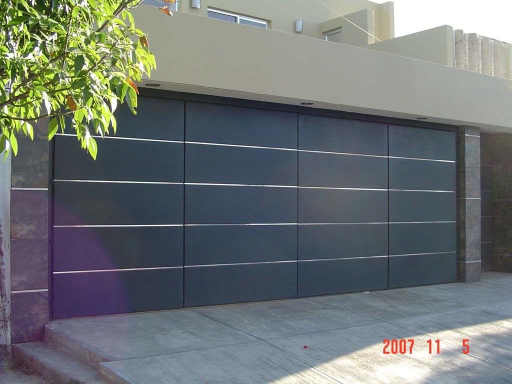 Puertas para cochera automaticas fibraline en guadalajara for Precio de puertas electricas