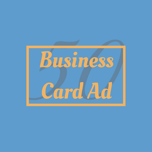 Business card ad valley interfaith council sf valley for Business card size ad