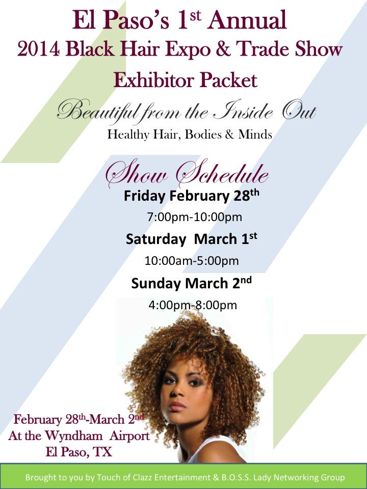 black beauty expo el paso black hair expo and trade show