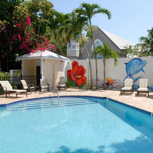 Duval House Heated Pool