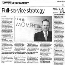 Momentum Wealth media release publicity