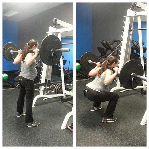 Pre-natal workout