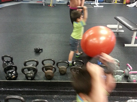 Mommy and me fitness