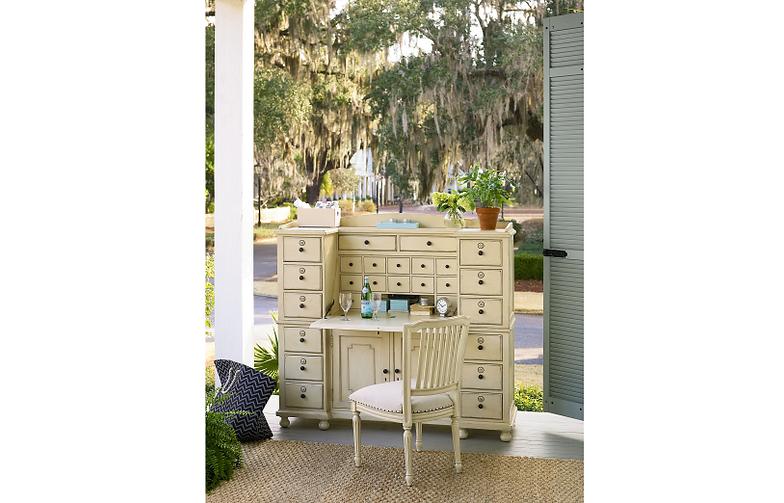 Delightful Paula Deen River House Desk/cabinet