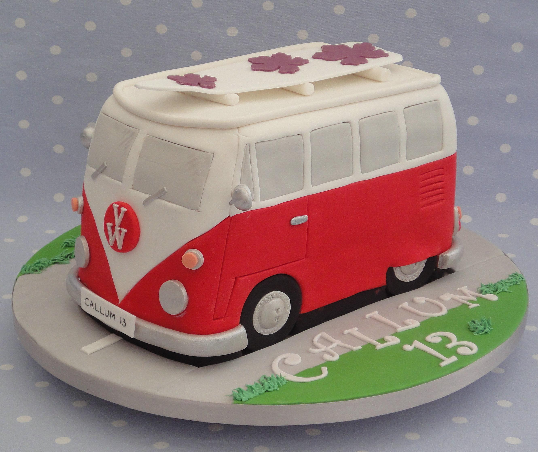 Vw Camper Van >> Stunning Cakes   VW CAMPER VAN CAKE.jpg